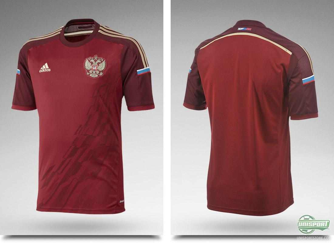 1491879c5b2 Russia and Adidas present new home shirt