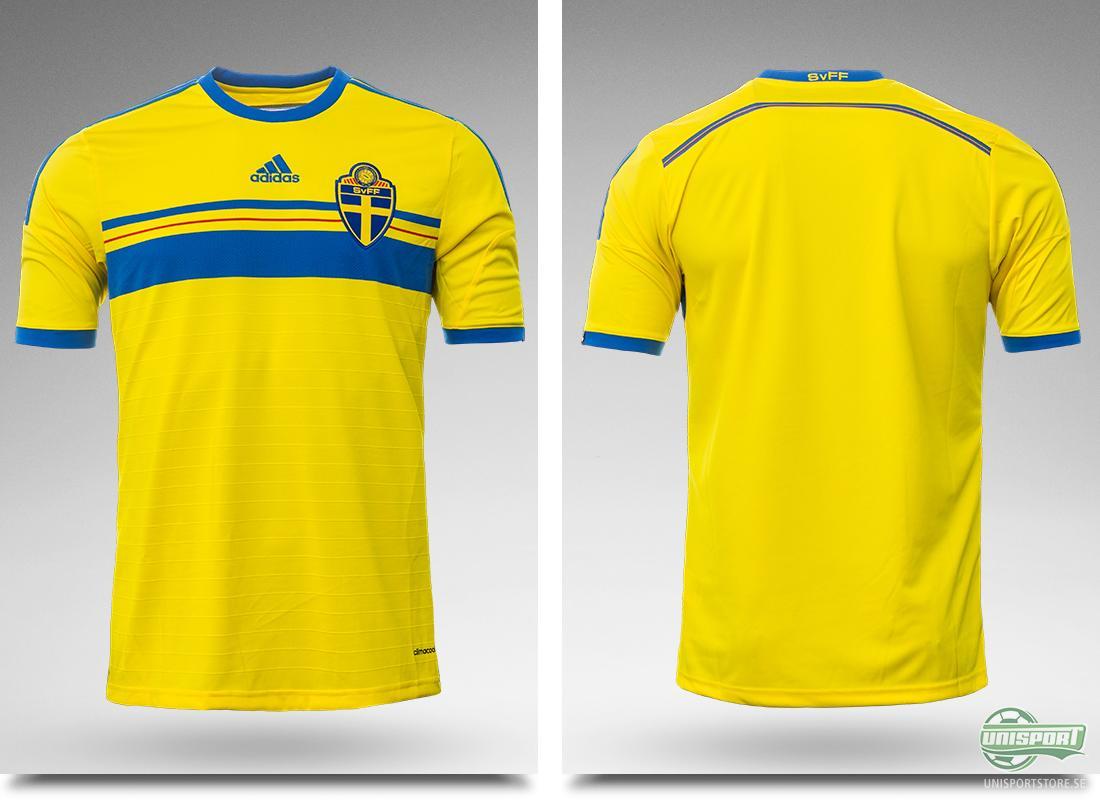 Nu är den här Sveriges landslagströja som ska ta oss till VM