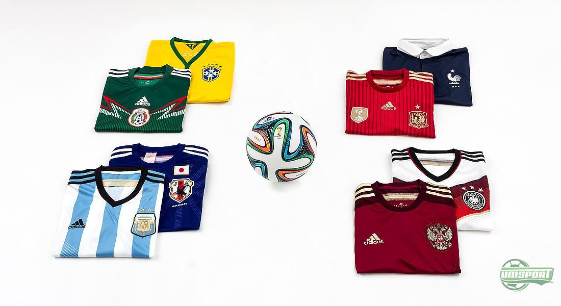 VM fotballdrakter og VM ballen: Få hele VM oversikten her
