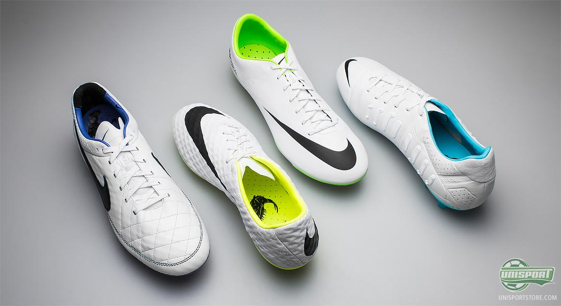 28dd77f071d9 This is something Nike have chosen to carry on to these four boots that are  predominantly white