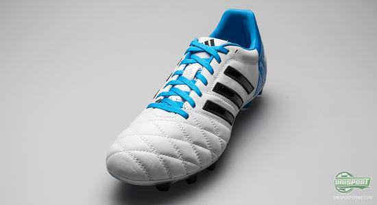 huge discount 5825d 4e2c5 ... about the brand new Adidas Adipure 11pro II, which gets yet another  colourway, and this time around it is a sharp combination of white, blue  and black.