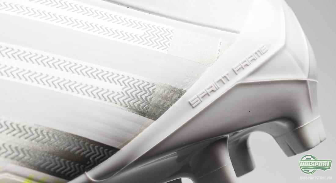 Adidas Predator LZ II SL hvit med regnbuens farger