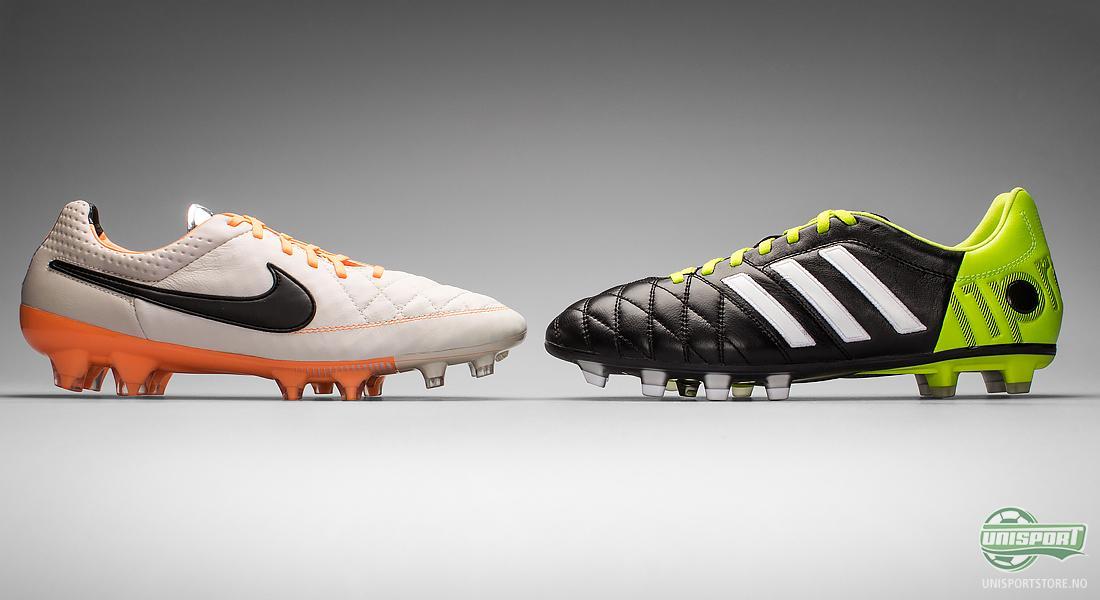 Skinnsko i duell: Adidas Adipure 11pro II vs Nike Tiempo
