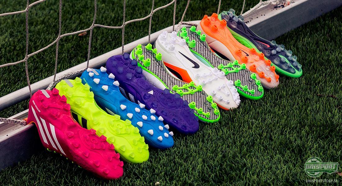 Både Nike och Adidas vet hur viktiga konstgrässkor är och har därför lagt  fokus på att tillverka alla sina toppmodeller med AG-dobbsystem (Artificial  ... f55602565b214