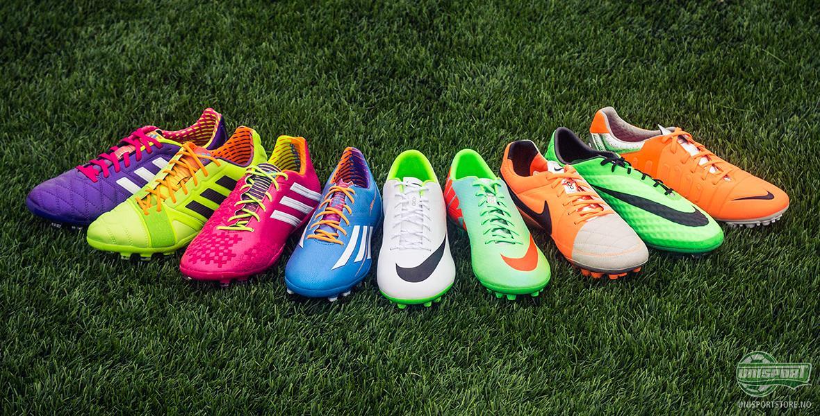 Bli klar for den nye sesongen med AG fotballsko fra Nike og