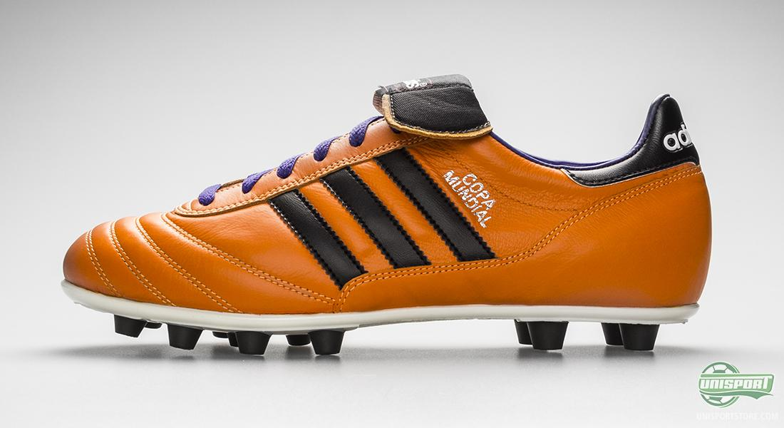 aeb71e8e The solar zest colour on the Adidas Copa Mundial is also hard to miss.  There is a reason why a lot of traffic signs are orange, and the Adidas ...
