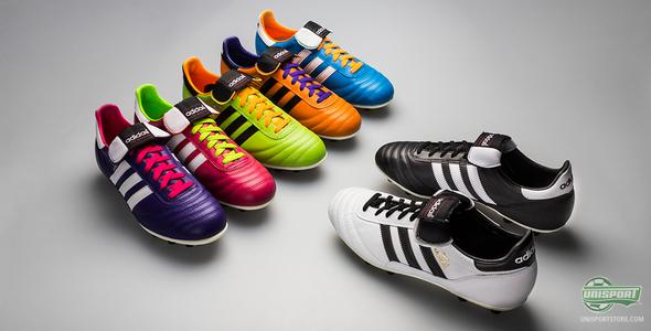 Adidas Copa Mundial in black, white and