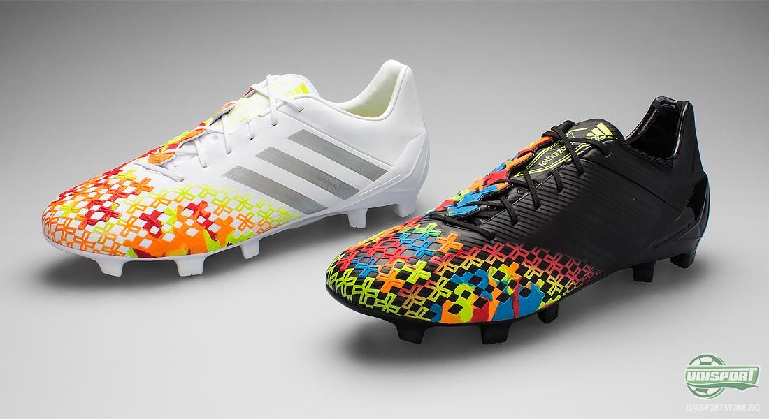 14ede16a Adidas har virkelig hatt hele fargespekteret fremme når fotballsko-designerne  har laget nye fargevarianter av Adidas Predator LZ II SL.