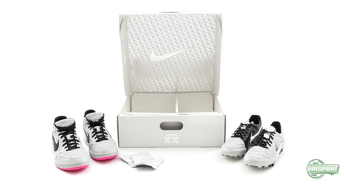 95157594 Den udødelige Tiempo- serien har nemlig 20 års jubileum. I den anledning har  Nike begått intet mindre enn en hel jubileumspakke.