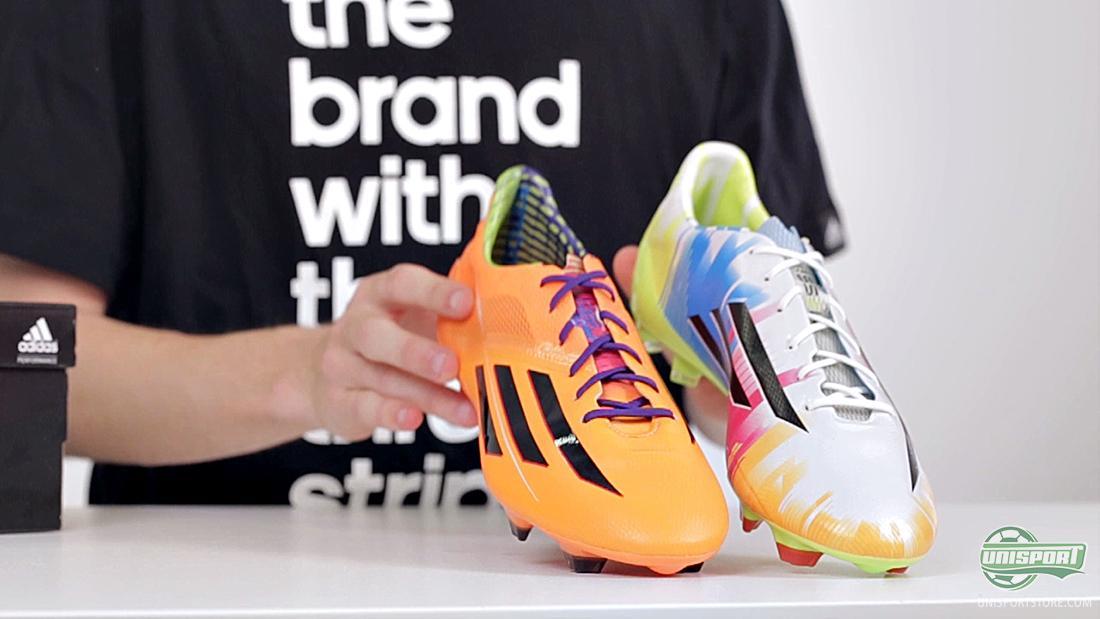 We present the Adidas F50 Adizero Messi