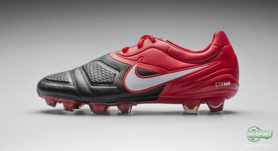 three Nike CTR360 boots