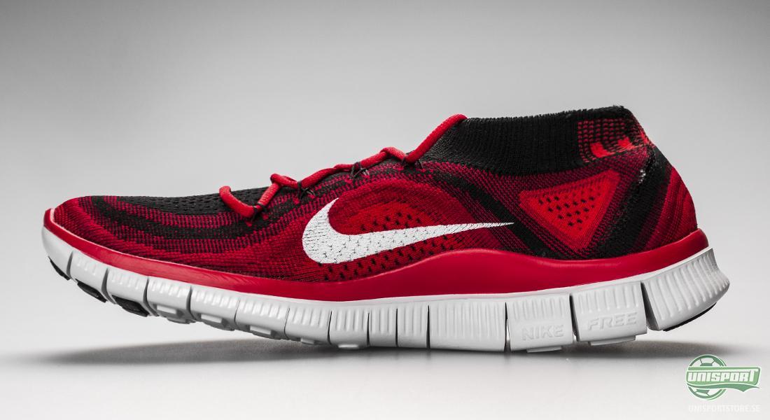 on sale 9aadc 324a3 Nike Free Flyknit+ har en väldigt låg profil och därför är den även fri  från onödiga detaljer. En sko som passar perfekt till löparen som vill ha  en snygg ...
