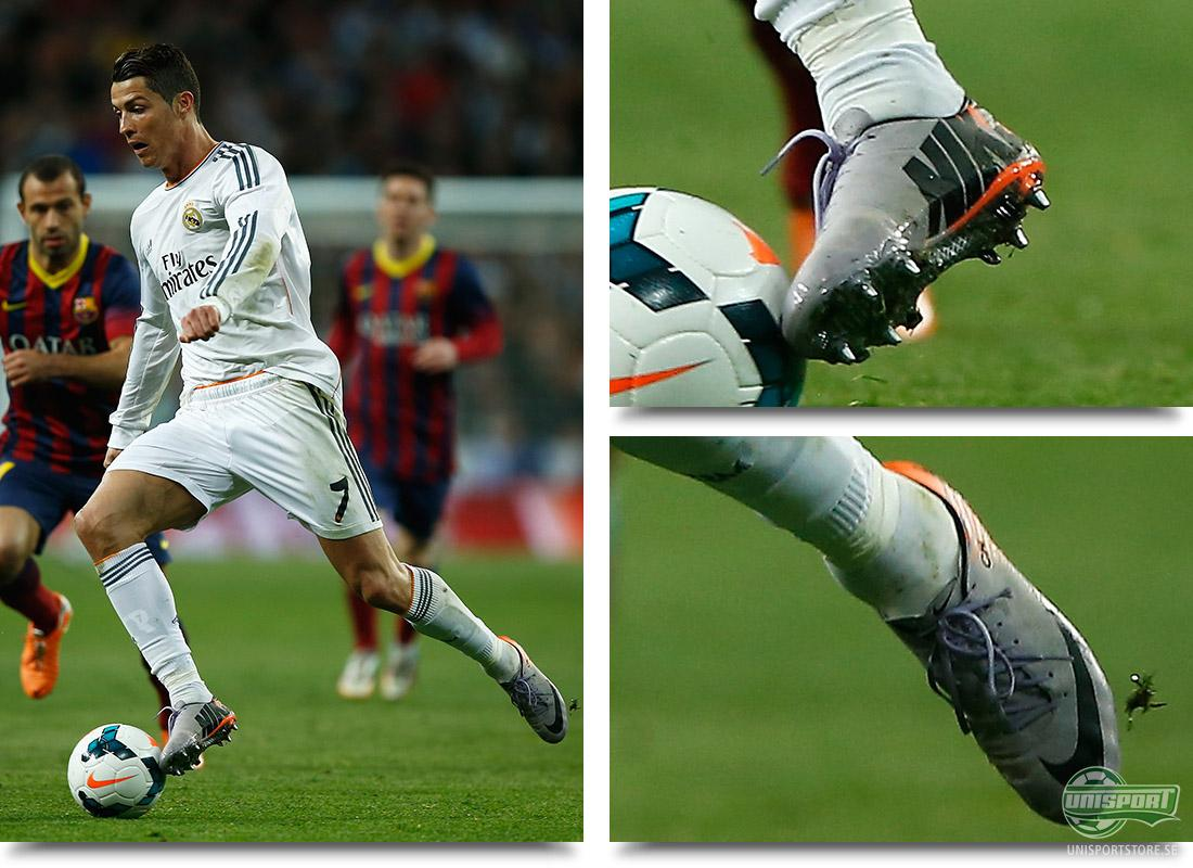 Cristiano Ronaldo använde sina nya Vapor 10M i El Clasico ed6d79977cc52