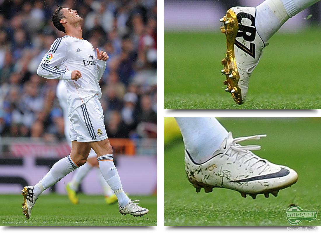 Cristiano Ronaldo (Real Madrid) - Nike Mercurial Vapor CR SE Meningen var  att han skulle spela med dem under Copa del Rey finalen. Dessvärre var han  skadad ... 81fa4d561a4f0