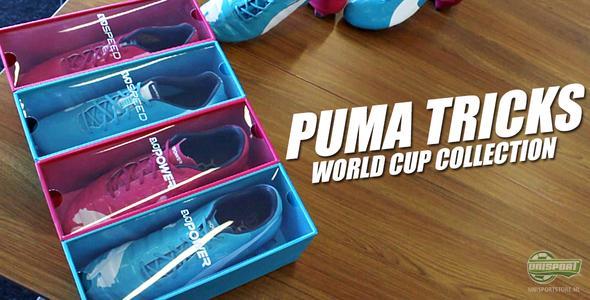 Unisport WebTV: Puma vertelt over de gedachten achter Tricks