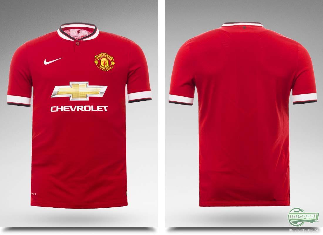 Manchester Uniteds nya matchtröja är lanserad och redo för