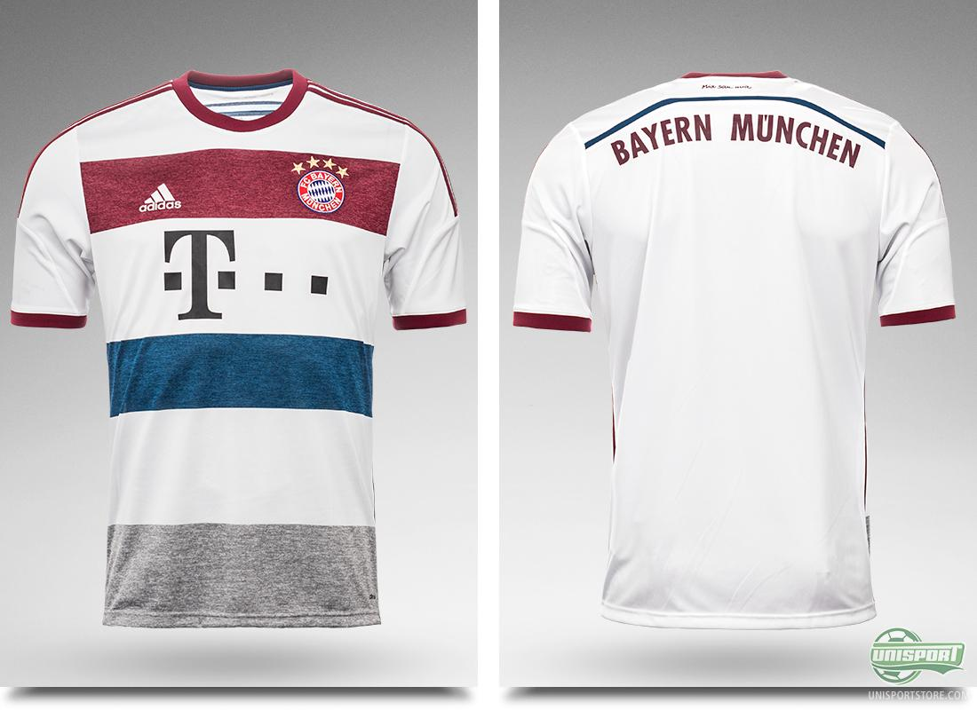 the best attitude ac970 741e0 Bayern Munich away shirt: A study in fashionable design