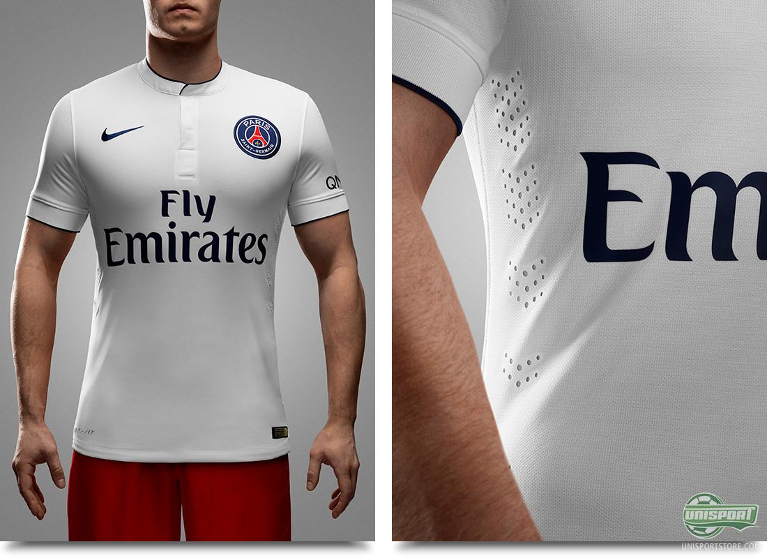 Nike Present A Stylish Away Shirt For The Ambitious Psg