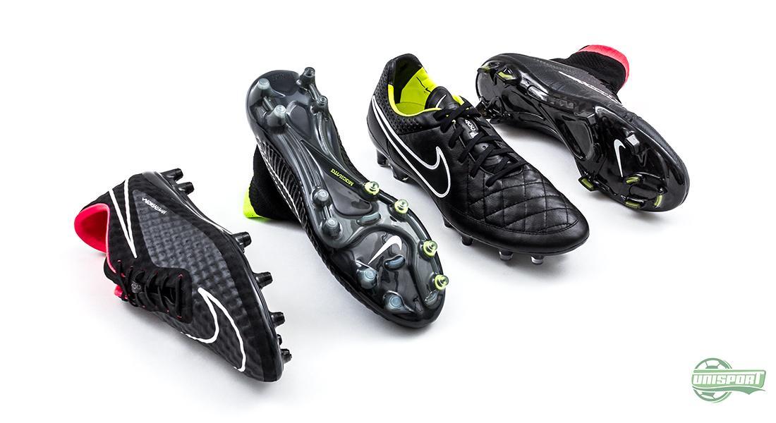 De fyra skorna lanserades som en enhetlig kollektion under namnet Black  Pack bbab6d2e7f65a