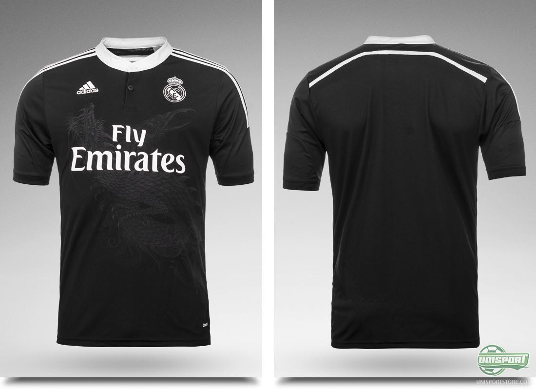 outlet store 6a545 46b28 Real Madrid, adidas and Yohji Yamamoto present new third shirt