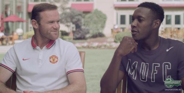 Rooney og Welbeck svarer på fansens spørsmål