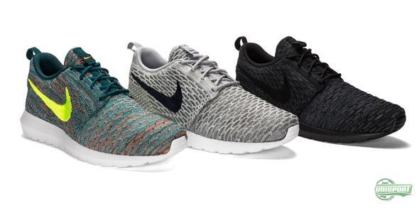 Nike presenterer Roshe Run Flyknit
