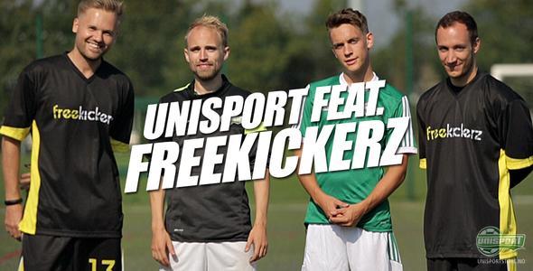 Unisport WebTV: Unisport og Freekickerz i frispark-konkurranse