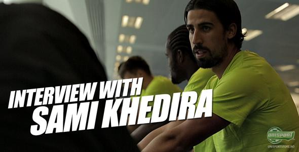 Unisport WebTV: Joltter møter Sami Khedira hos Nike Academy