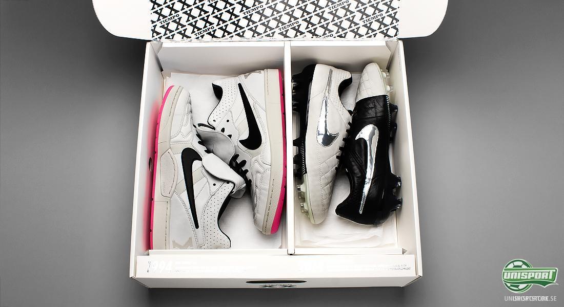 online retailer c0c5b 129af Nike Tiempo XX Pack + Tiempo Legend V Svart Vit   Lanseringsdatum  20 e  januari 2014 Senare samma dag lanserade Nike två utgåvor av Tiempo Legend V.  Den ena ...