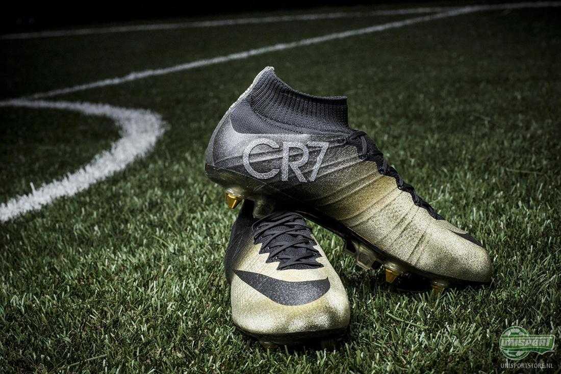 Nike maakt gouden Mercurial CR7 Rare Gold voor Cristiano Ronaldo