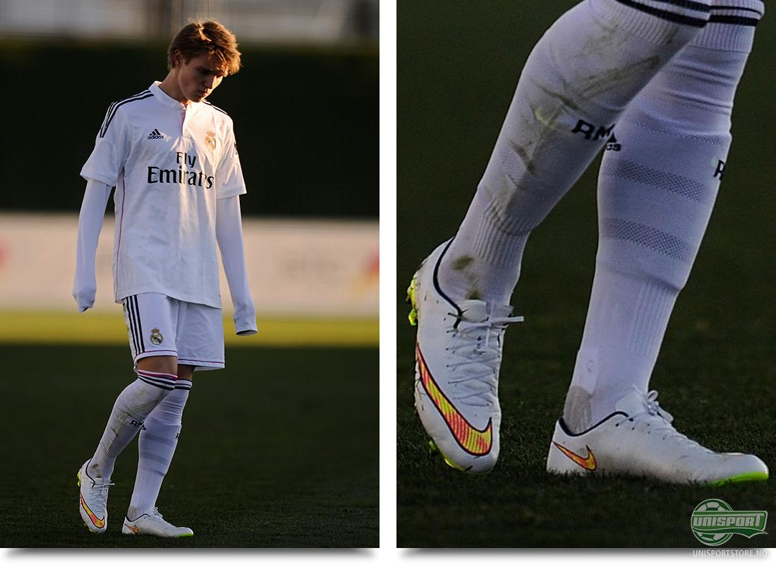 4c4ded95 Martin Ødegaard (Real Madrid) – Nike Mercurial Vapor X Shine Through Få  tenåringer har rystet verden som 16 år gamle Martin Ødegaard.