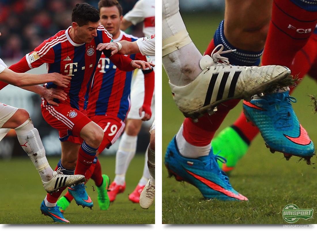 c9de671e Robert Lewandowski (Bayern München) – Nike Hypervenom Highlight Pack Også  Lewandowski var hoppet i Nikes nye Highlight Pack farger, da han sammen med  resten ...