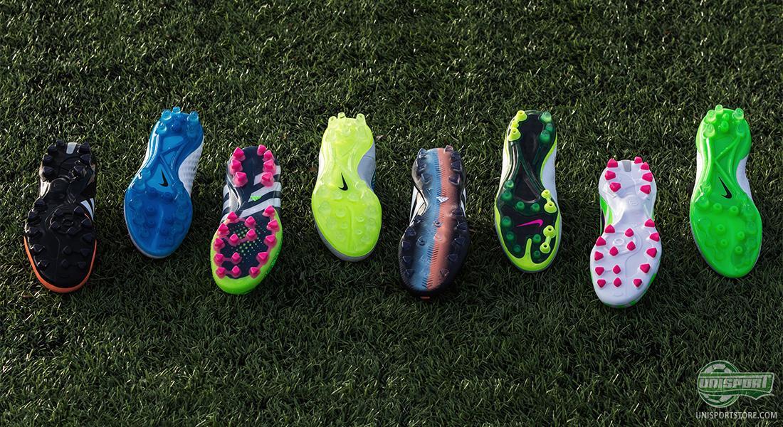 Football boots for artificial grass (AG
