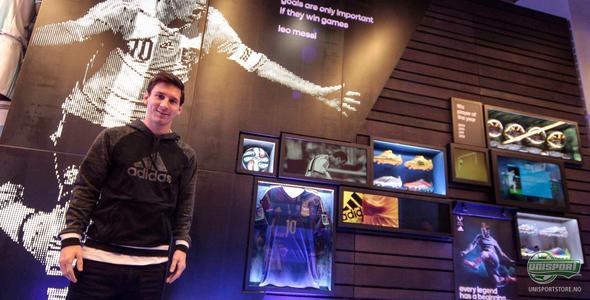 adidas lanserer mini-museum til ære for Lionel Messi
