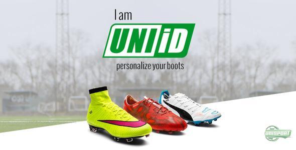 I am UNIiD - Sett ditt personlige preg på fotballbanen