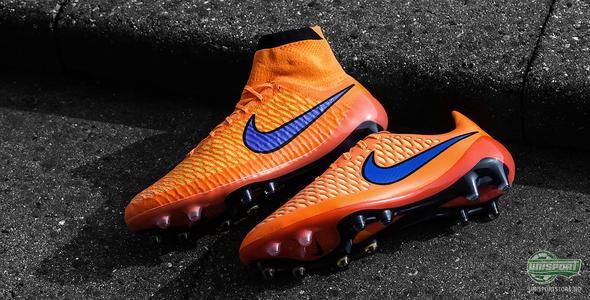 Nike fyrer opp intensiteten med oransje Magista