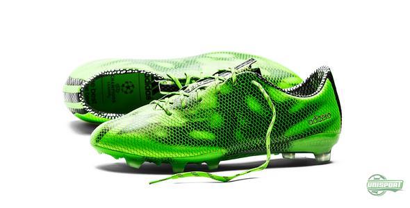 Ny grønn f50 adizero er perfekt til raske spillere