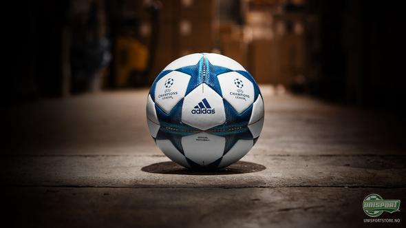 Adidas presenterer den nye offisielle Champions League ballen
