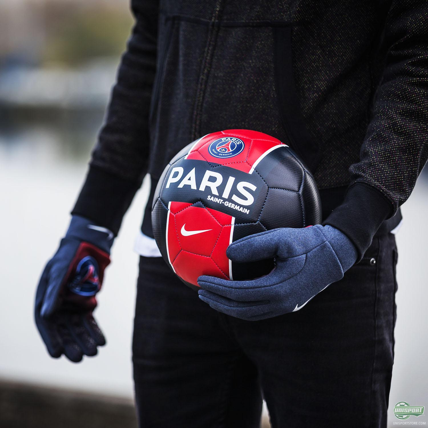 adidas and Nike players gloves