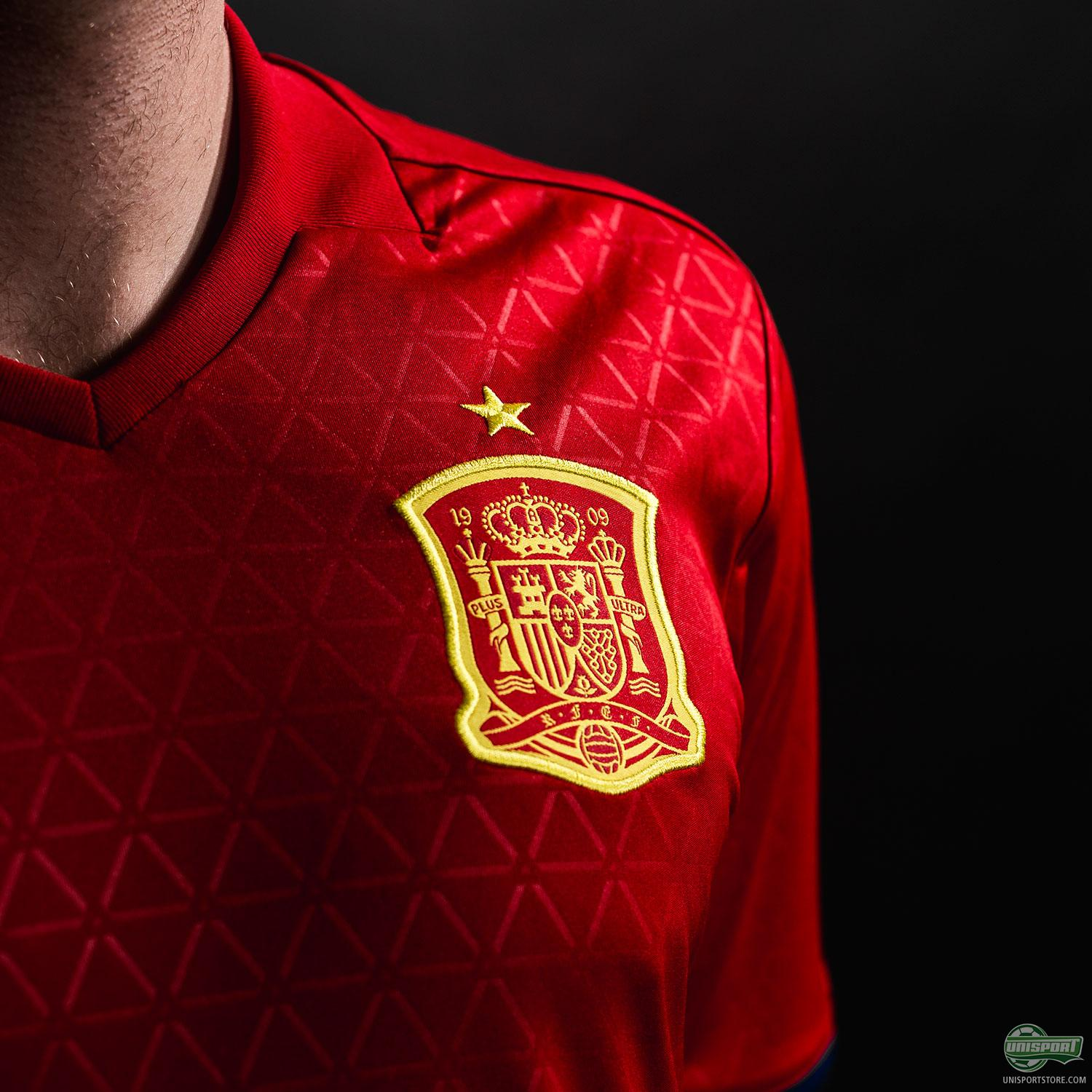 7a49a977859 Spain get ready for Euro 2016 with their new adidas home-shirt