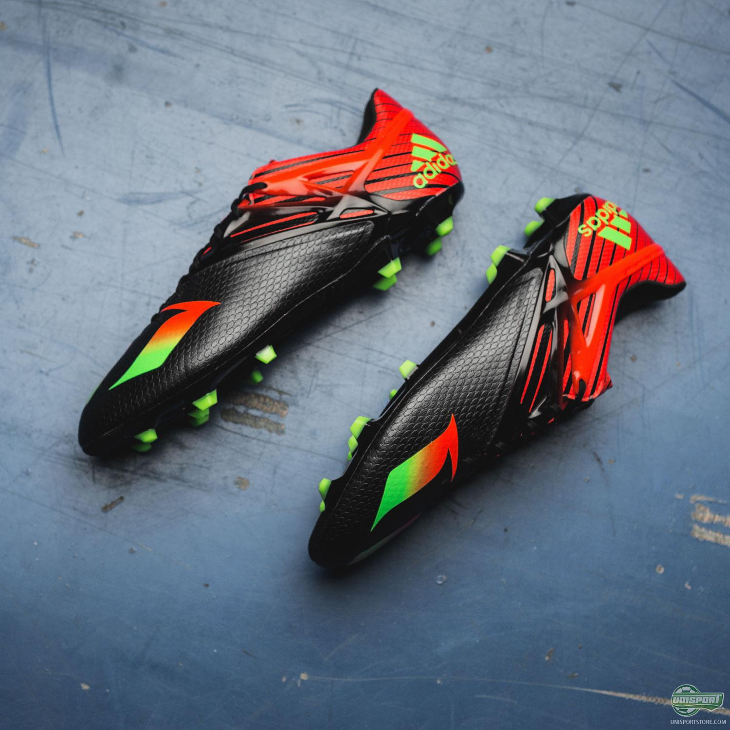 premium selection d1fea 87af2 Luckily the Portuguese flag is very good looking, as far as flags go, and  also makes for a brilliant colour scheme on the new adidas Messi15.1 boots.