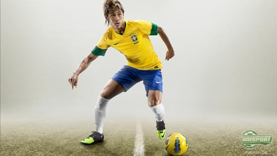 neymar holder en sko