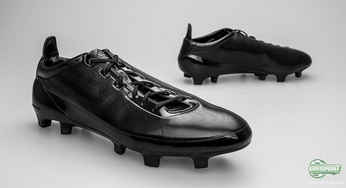 adidas f50+ football boots black white