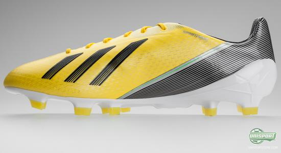 4378e6b9a0af Back in 2010, when Adidas launched their first generation of the Adidas F50  Adizero, the boot revolutionised the speed boot market as it weighed in at  no ...