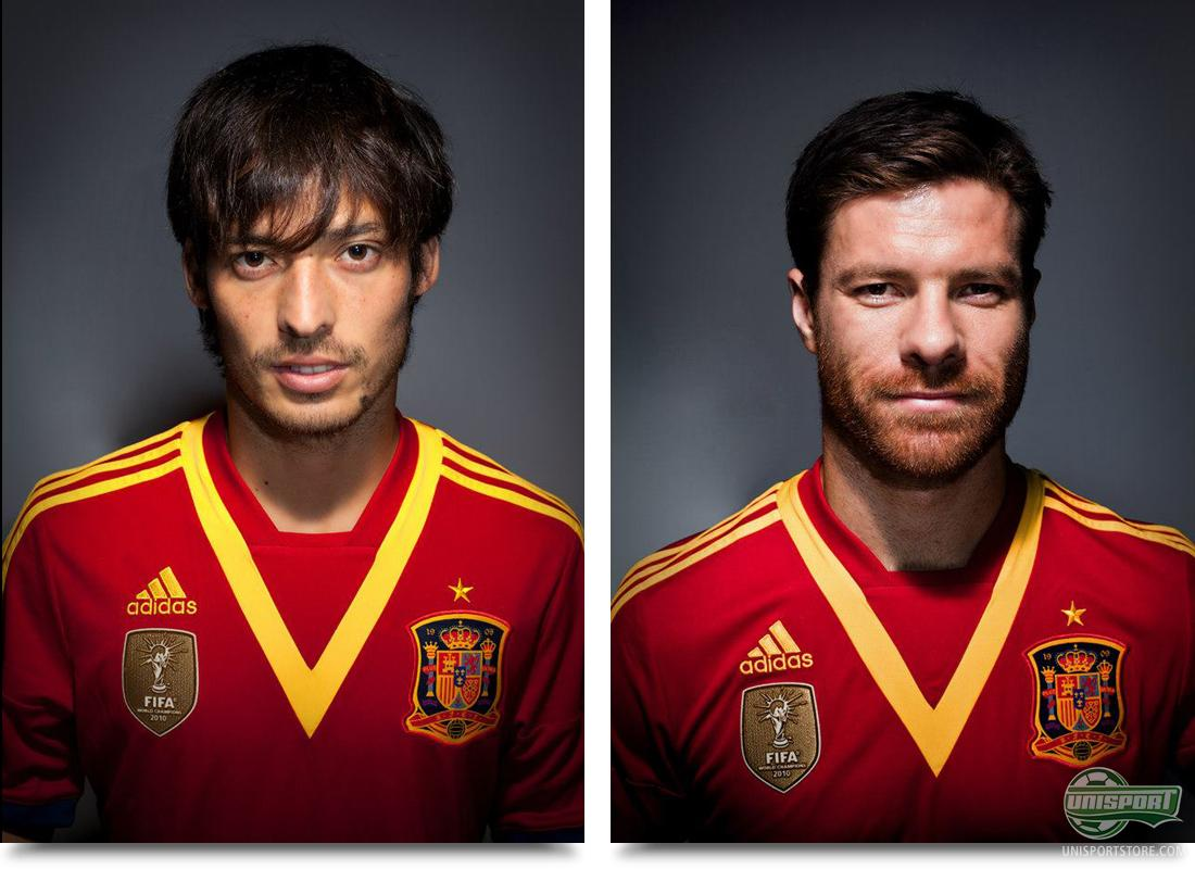 Adidas Spain Home Shirt Reveals 2013 New The For vqO17vUP