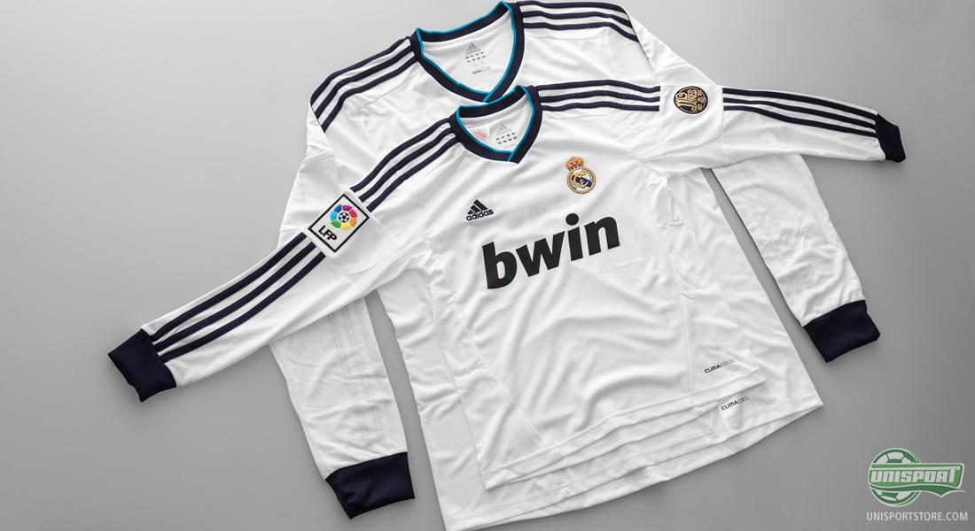 separation shoes 8c23e db5eb Long Sleeved Real Madrid-shirts now in stock in all sizes