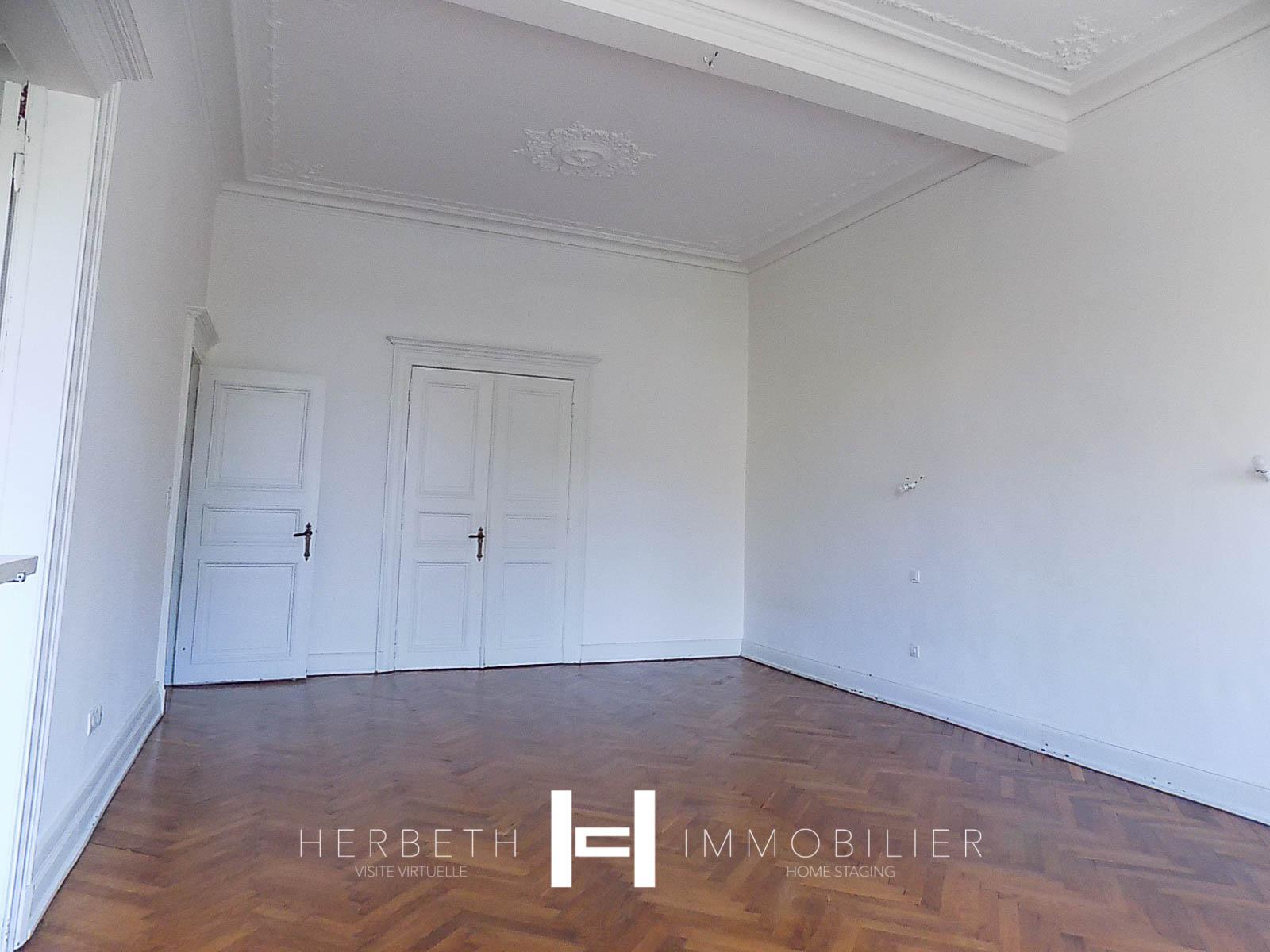 Salle De Bain Borgne unique metz hyper centre- f6 à louer- terrasse privative