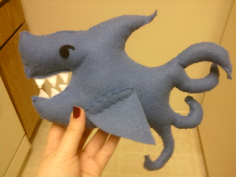 Teddy Sharktopus