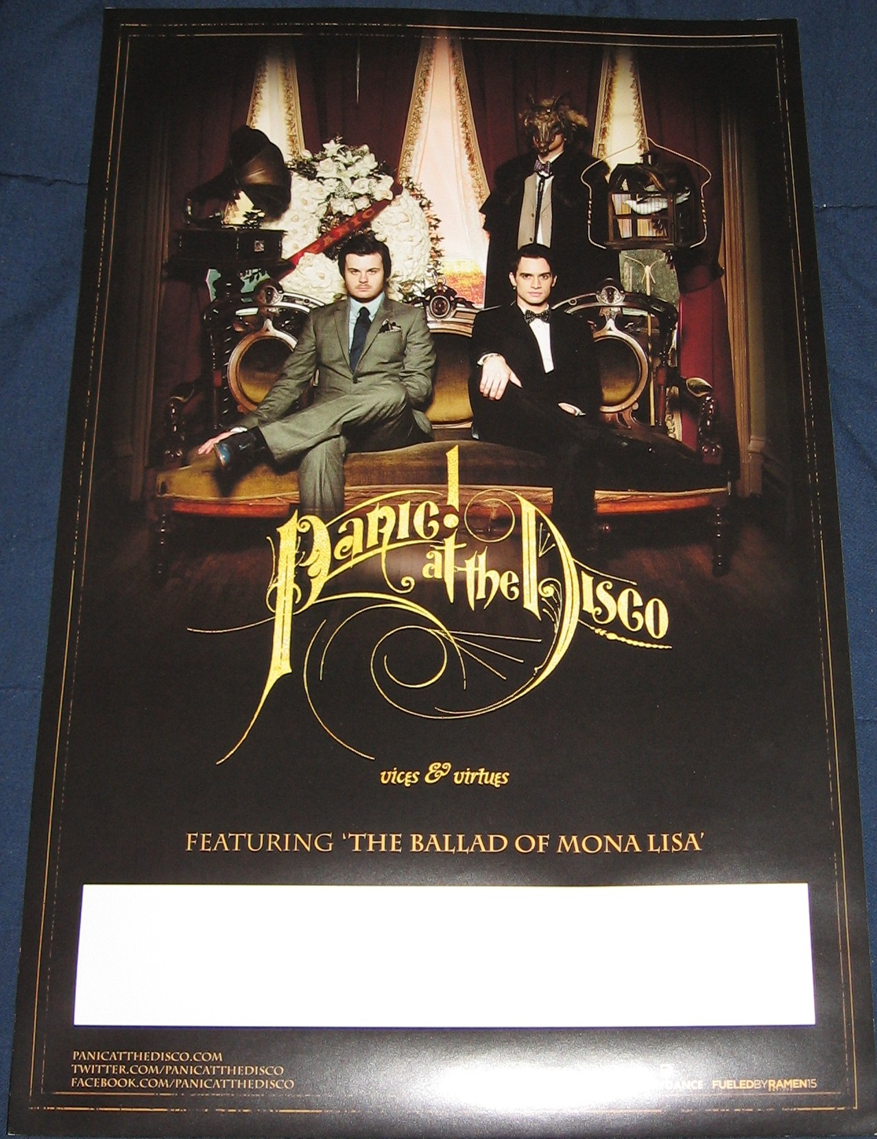 panic at the disco vices and virtues tour - photo #33