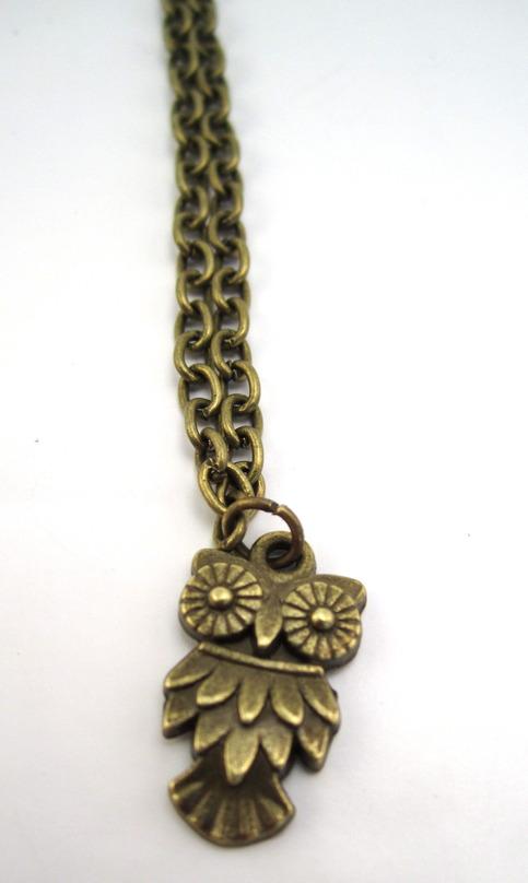 Dainty Owl Necklace